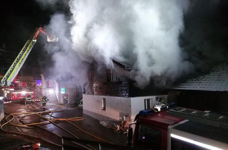 Brand Einfamilienhaus in Fanas