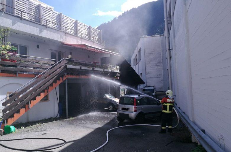 Küchenbrand in Schiers