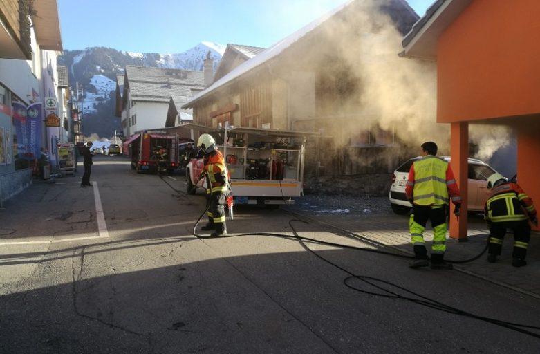 Wohnungsbrand in Seewis