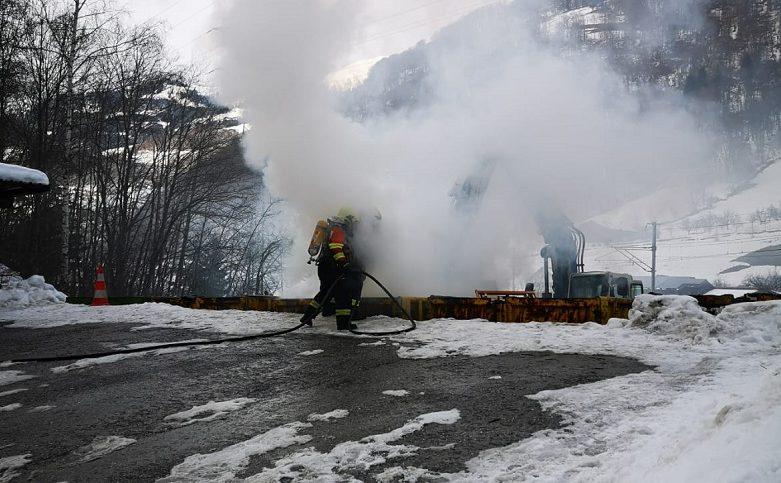Mottbrand in Schiers