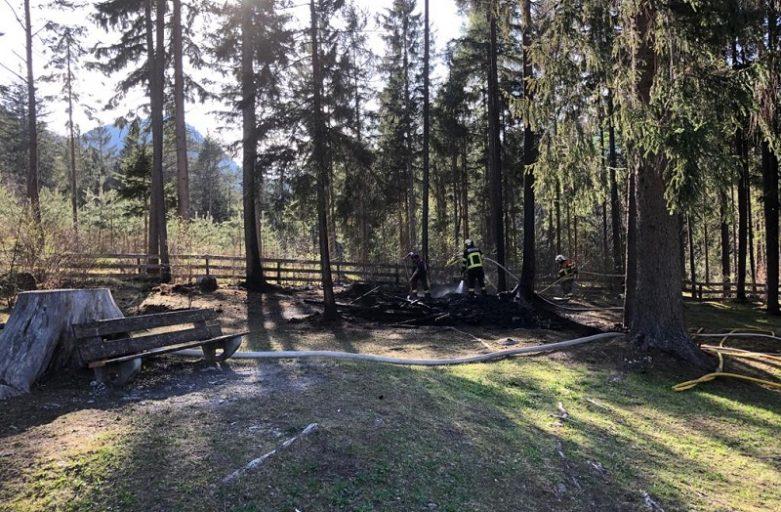 Brand in Grüsch