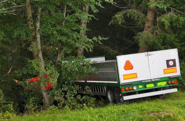 Verkehrsunfall in Valzeina